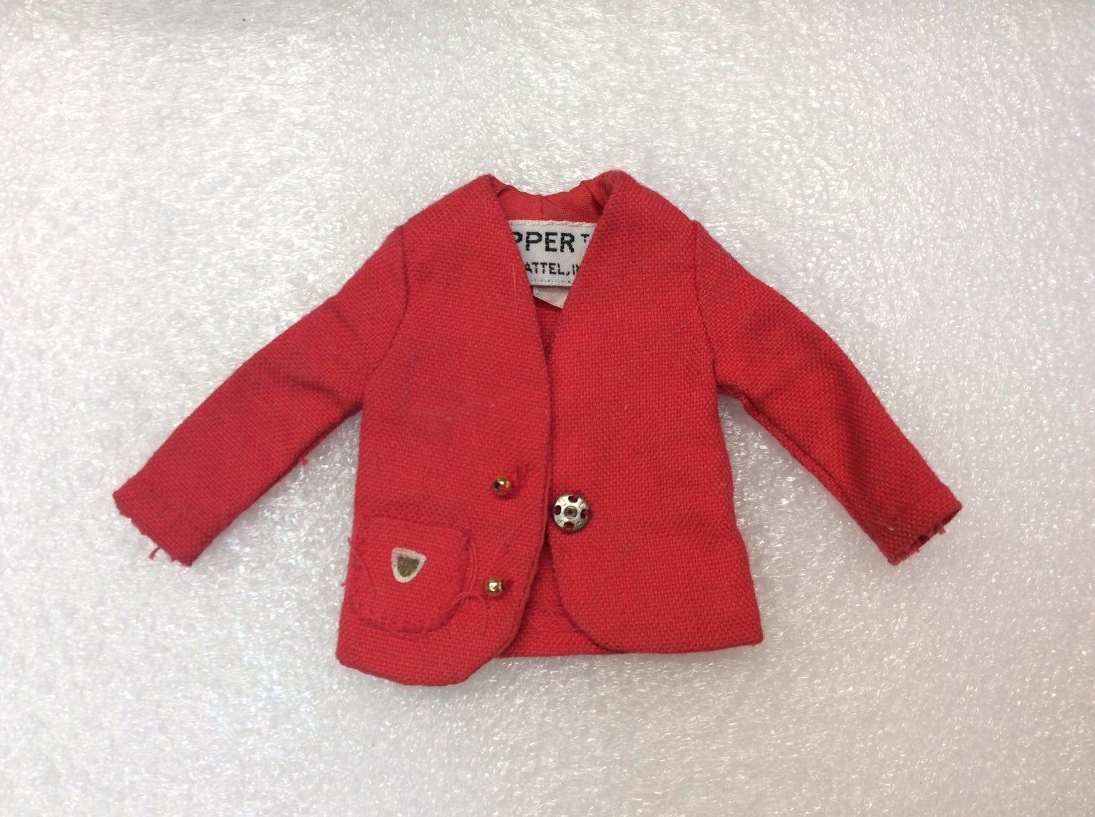 Vintage Skipper doll red jacket 1963 on Mercari