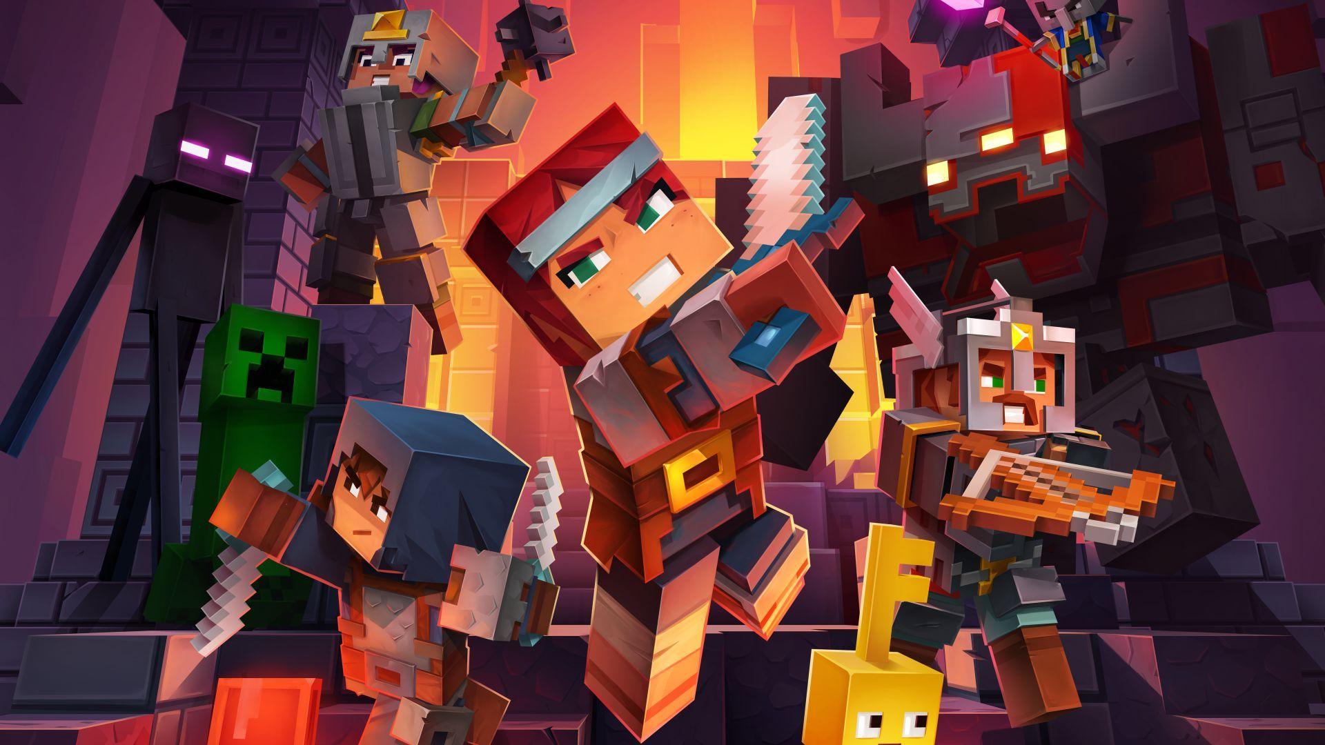 Baixar Minecraft Dungeons Grátis  Minecraft, Bioshock, Elder