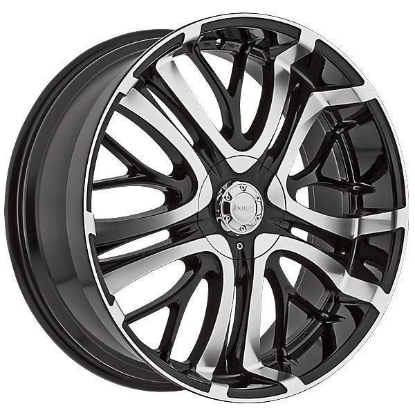 Incubus 500 Paranormal Gloss Black Incubus Wheel Rims Black Wheels