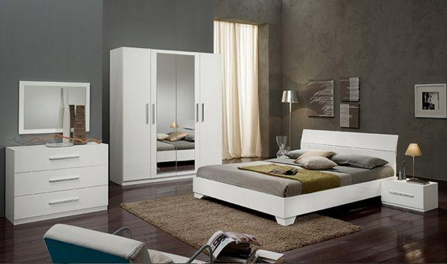 Gloria Blanc Meuble Chambre Deco Chambre A Coucher Chambre