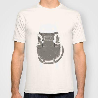 space cat T-shirt by Louis Roskosch - $22.00