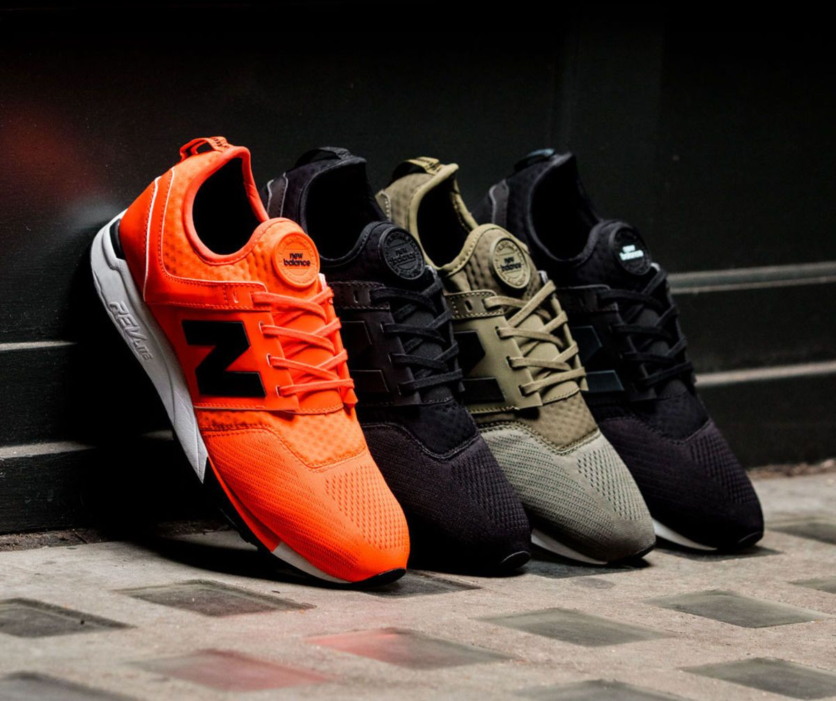 New Balance expands the 247 line with a new Sport model. The new addition to the 247 line gets more technical.