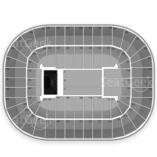 Greensboro Coliseum Seating Chart Concert Music Seating