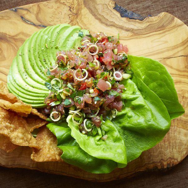 Ahi Tuna Tartare. Recipe from Braden Wages of Malai Kitchen, Dallas ...