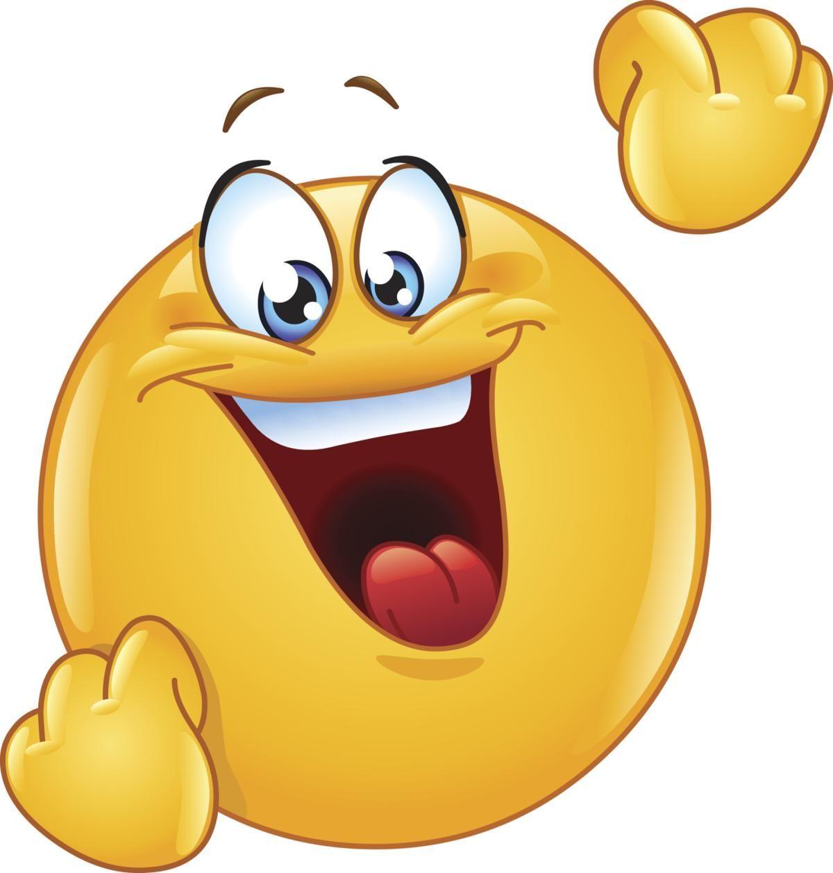 Happy Celebrating Emoticon Emoji Images Funny Emoticons Emoticon