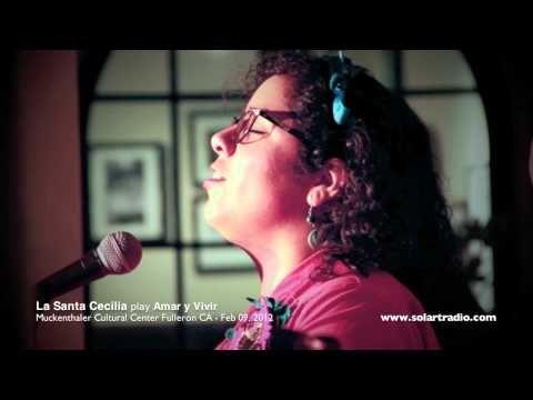 La Santa Cecilia Amar Y Vivir Mov Youtube Music Artists La Santa Cecilia Concert