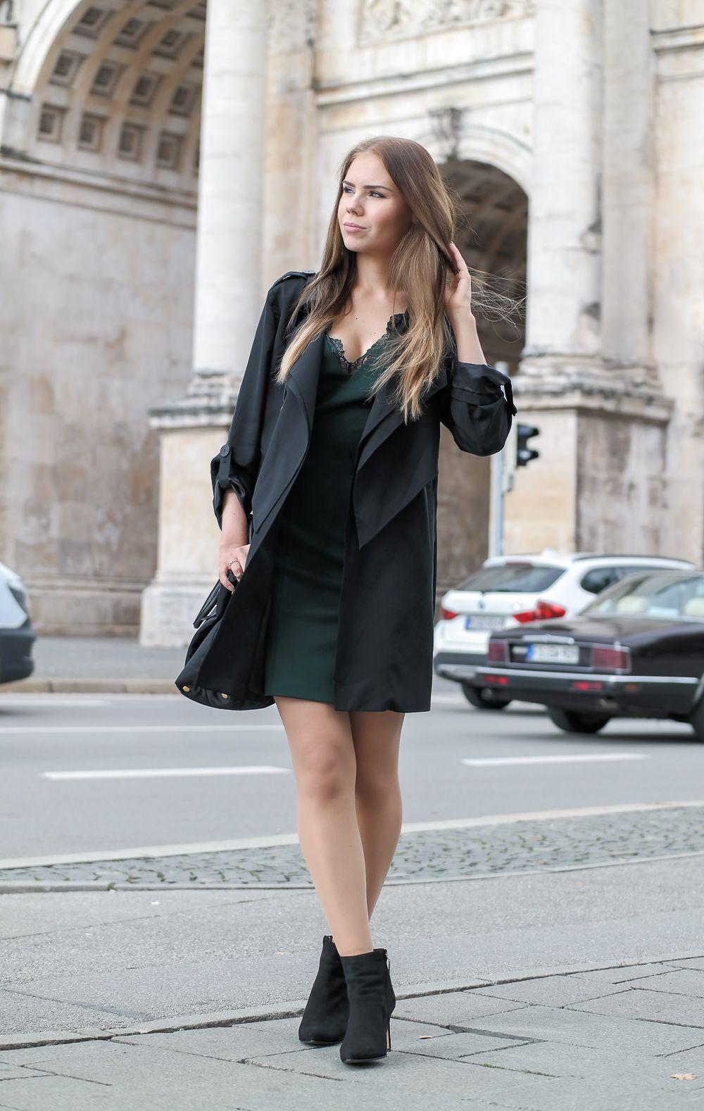 grünes Kleid | A7 | Pinterest | Grünes kleid, Grün und Frieren
