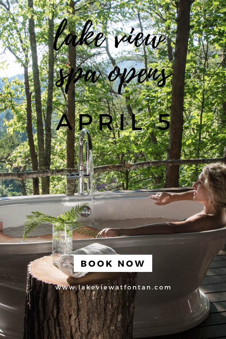 Lakeview At Fontana Opens On April 5 Book Your Honeymoon Anniversary W Bryson City North Carolina Cabins Smoky Mountains North Carolina North Carolina Cabins