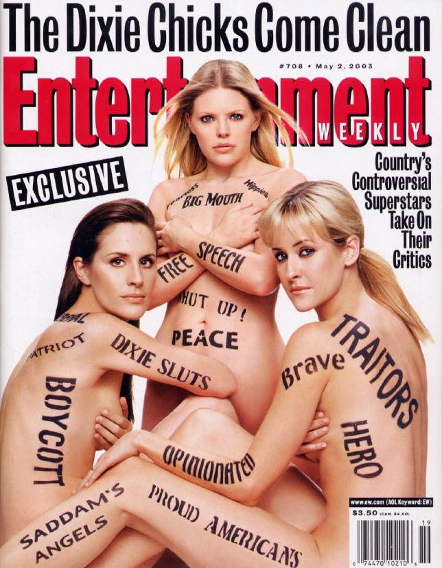 Dixie Chicks Entertainment Weekly Cover