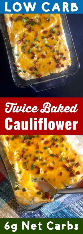 Photo of Twice Baked Cauliflower Faux-tatoes [Low Carb & Keto] – Resolution Eats