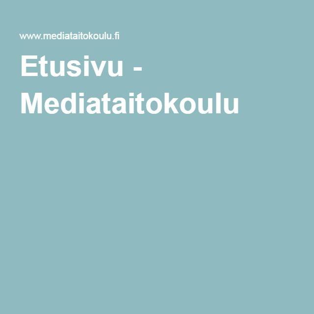 Etusivu - Mediataitokoulu