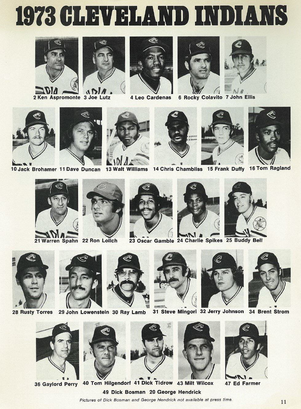 1973 Cleveland Indians
