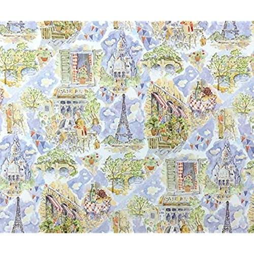 Melody Jane Dollhouse Miniature Print 1:24 Scale Childrens Nursery Rhyme Cream Wallpaper