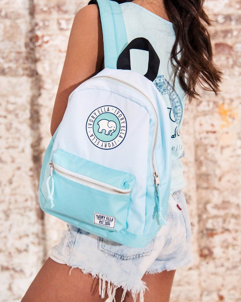 b5150088b5cc4 Mini Mint Ombre Backpack – Ivory Ella