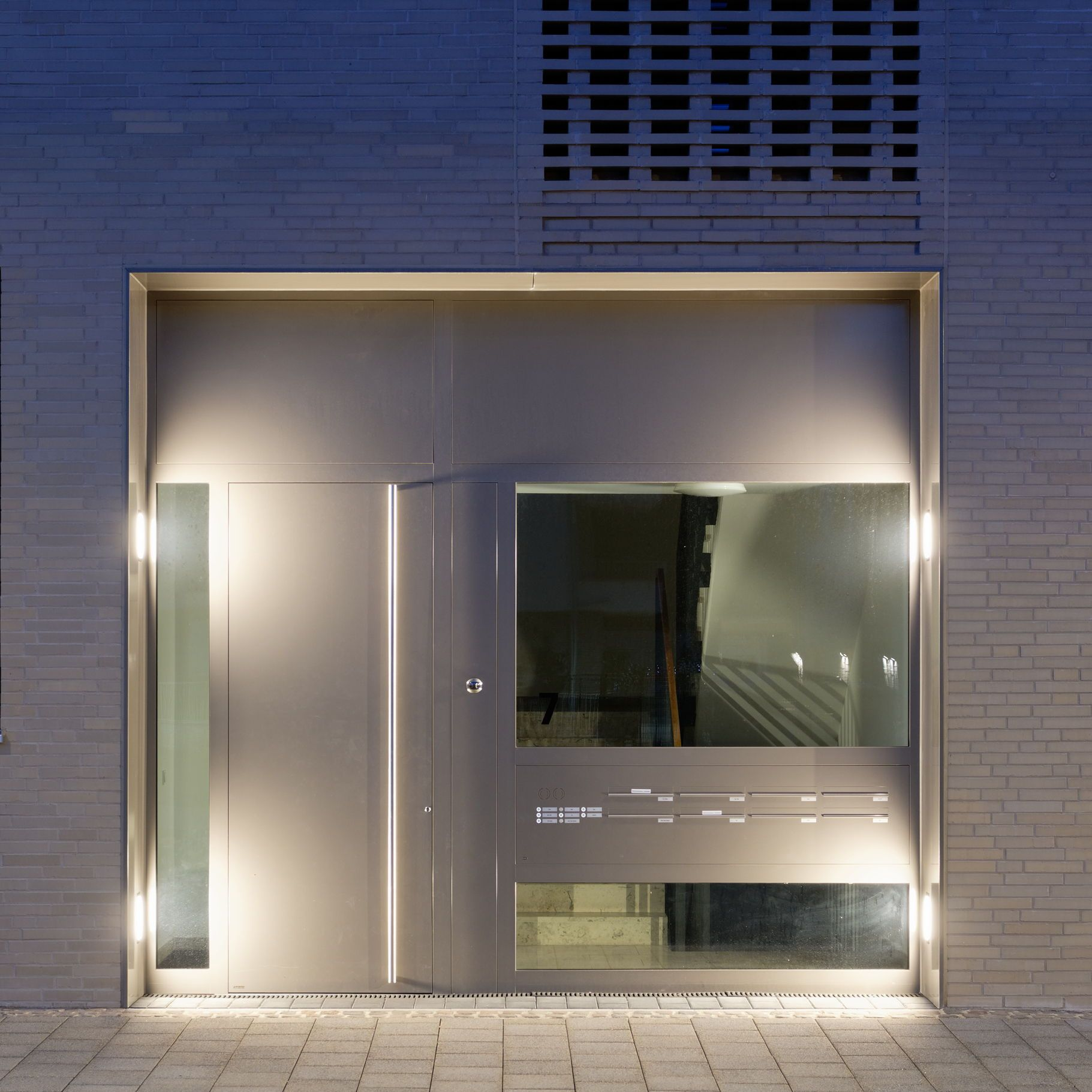 Led Recessed Luminaires For Walls And Stairs