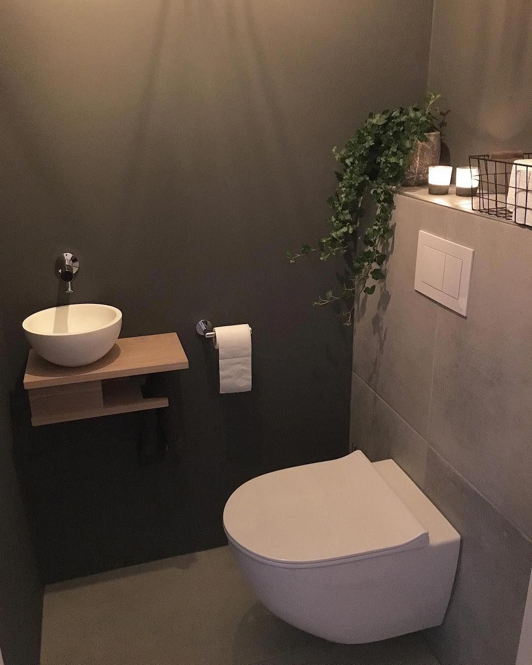 Wonderbaar 🌿 Nieuwe plant 🌿 Vind het de wc zo leuk aankleden 🤗 #wc #toilet CK-02