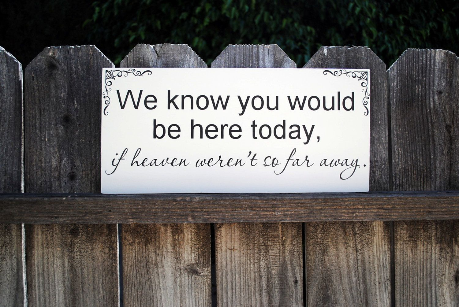 In memory of family wedding sign we know you by signstoliveby - 17 Best Images About Wedding Ideas For Honoring Deceased Loved Ones On Pinterest Dads My Dad And Memory Table