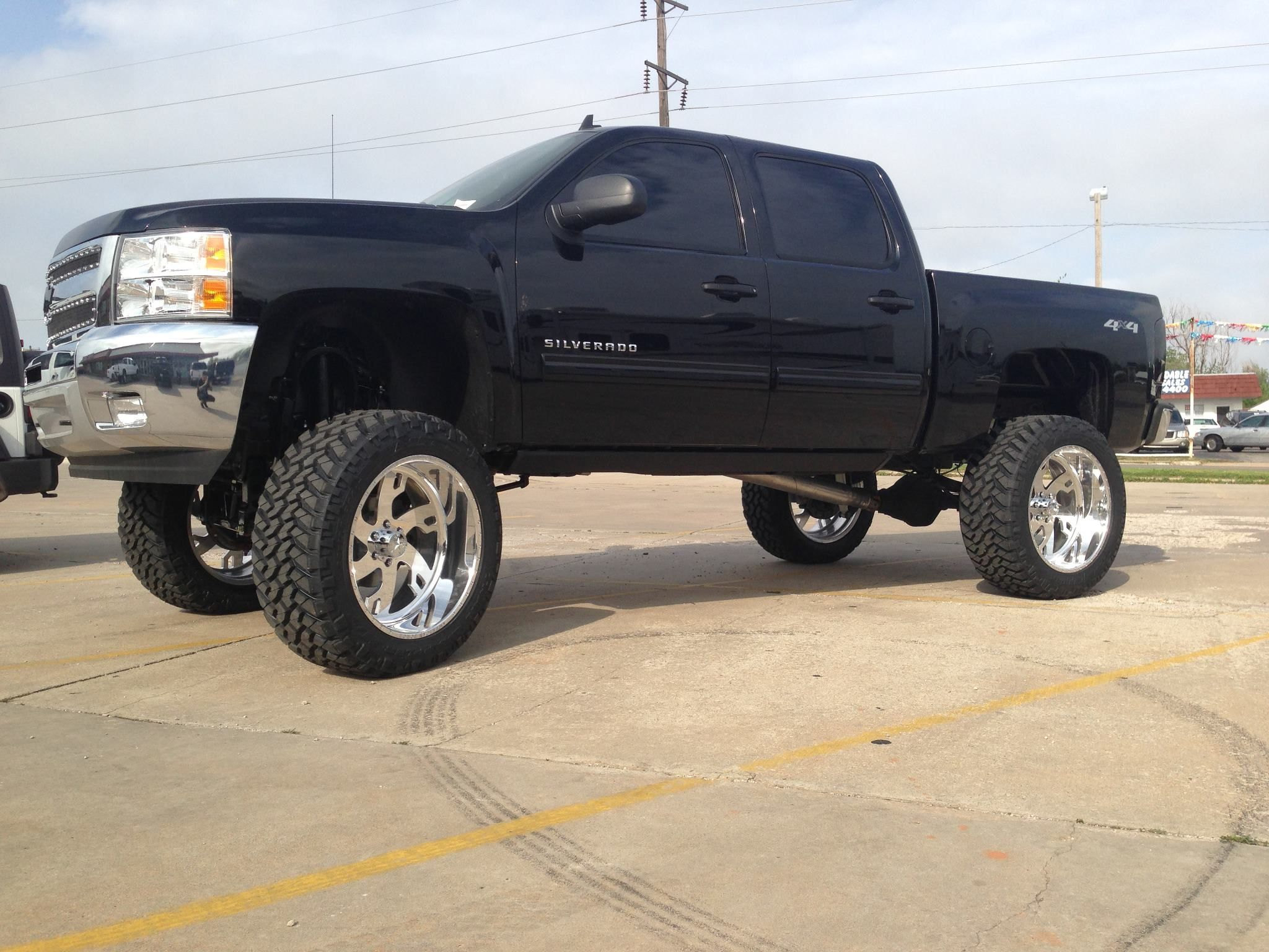 12 bullet proof lift kit 24 custom american force wheels 38