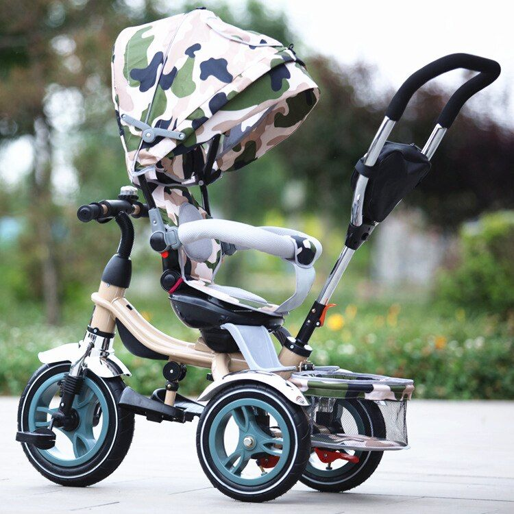 Fashion High Quality Child Kids Tricycle Multi functional
