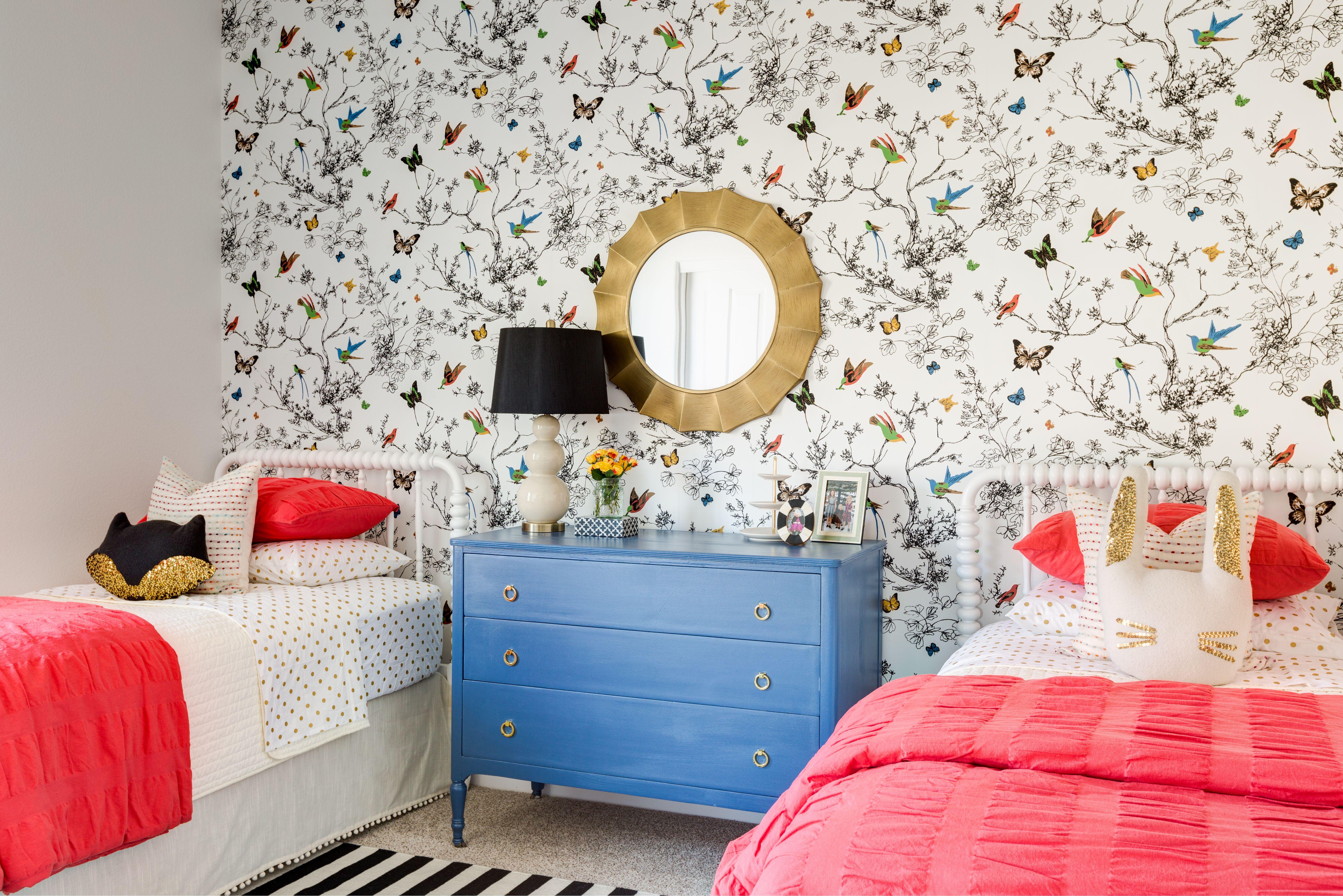 Butterfly Wallpaper Girls Room