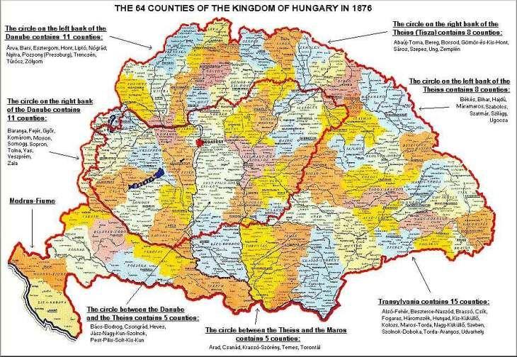 történelmi magyarország térkép Magyarország történelmi térképe és a trianoni határok | History  történelmi magyarország térkép