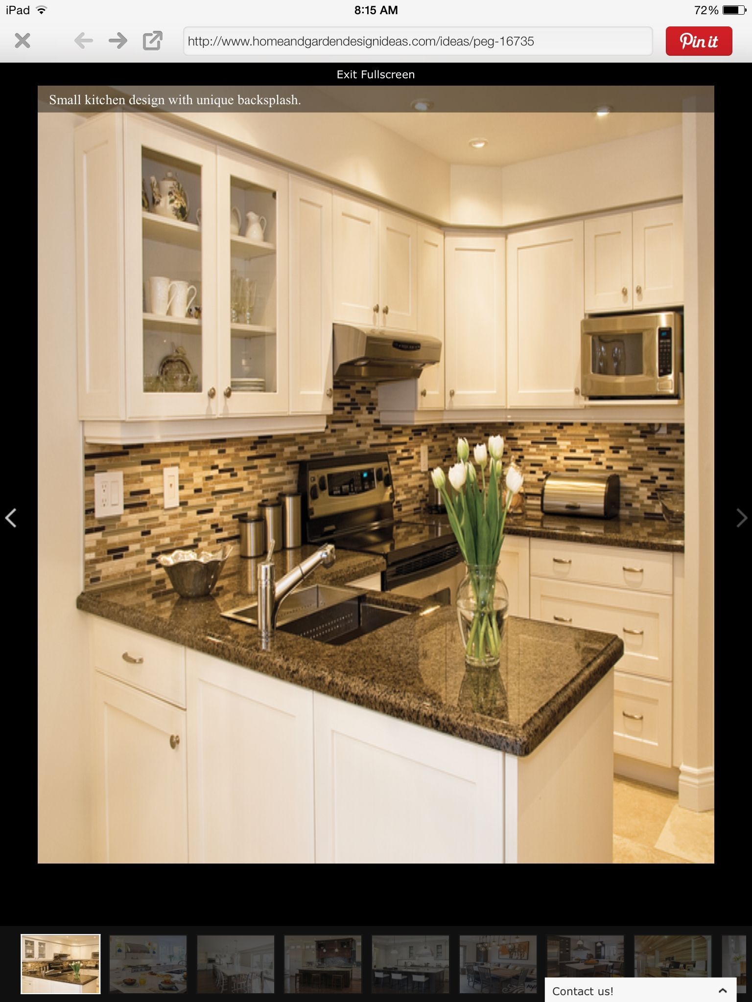 Homeandgardendesignideas Com White Cabinets Black Tan Granite