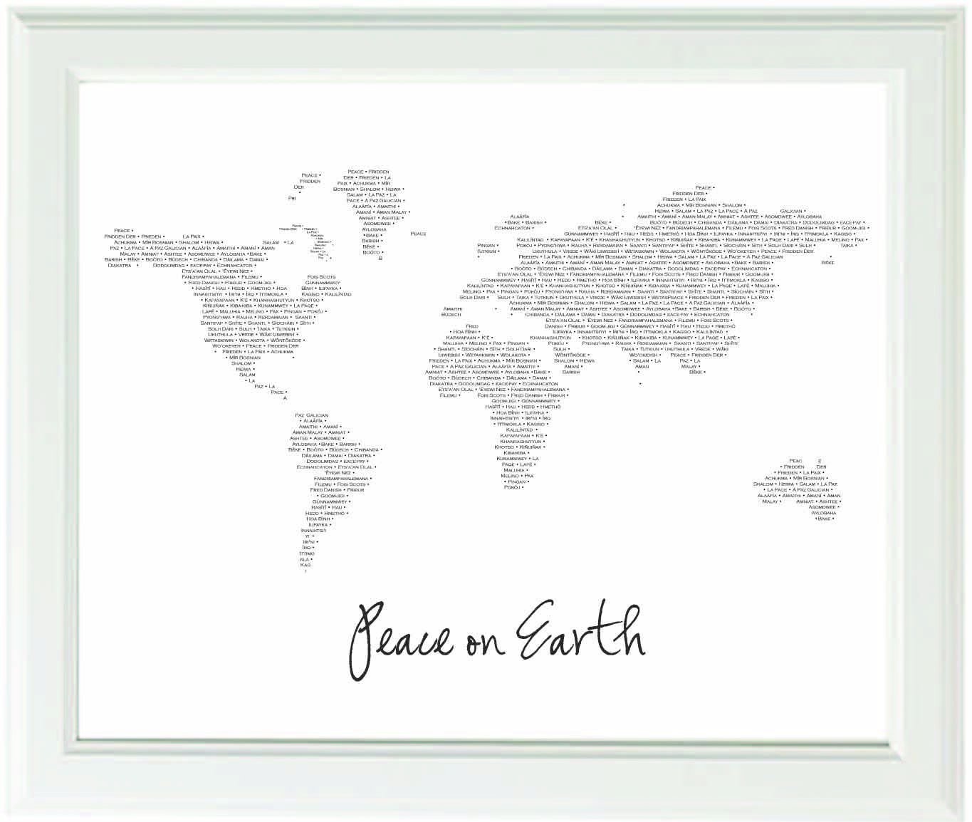 typography modern world map 8x10 black and white art print nurseries and kid rooms pinterest. Black Bedroom Furniture Sets. Home Design Ideas