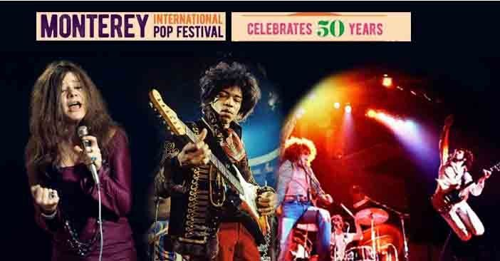 Monterey Pop 50 years celebration with a new event - Watch