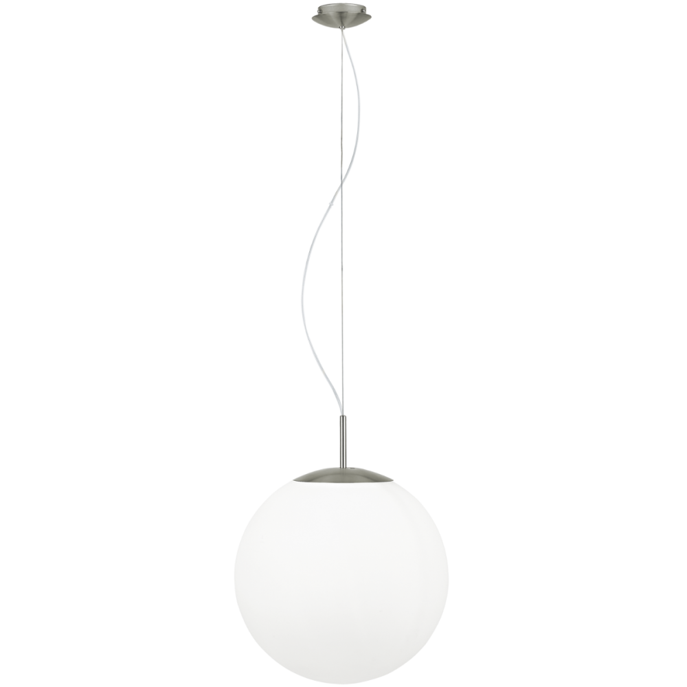 Lampara De Techo Colgante Globo Cristal Opalo 40cm 39165 Eglo Lamparas Iluminacion Decoracion Decoraciondelhogar Estilovintage Vintage D Lamp Eglo Decor