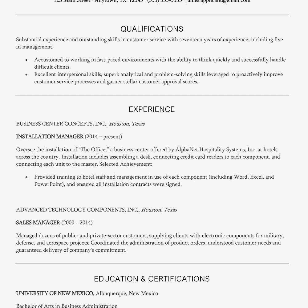 Gas Station Manager Resume Lovely Customer Service Manager
