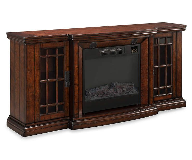 60 Low Profile Electric Fireplace With Bluetooth Speakers At Big Lots Products I Love