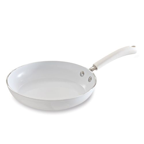 All White Ceramic Cookware 10 Saute Pan The Pampered Chef This Item Is Retiring From Pampered Chef S Ceramic Cooktop Ceramic Cookware Best Pans For Cooking