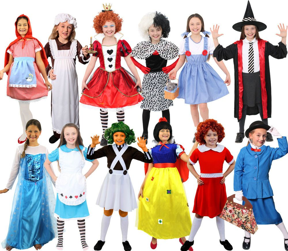Costumes Of Book Characters Book Characters Dress Up Kids Book Character Costumes Superhero Fancy Dress