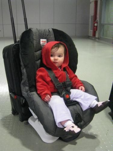 Car seat accessory for rolling suitcase | Products I Love ...