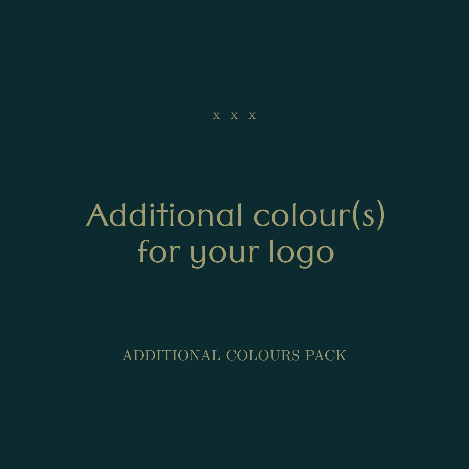 Additional Colours For Premade Logos Extra Colours Pack Rgb In 2020 Colours Premade Logo Premade