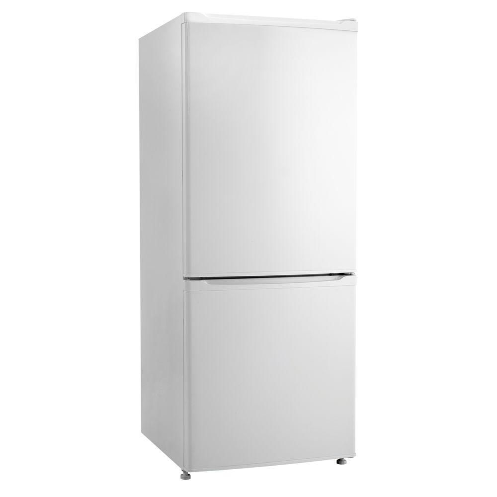Fridge For Apartment Danby 24 In W 9 2 Cu Ft Bottom Freezer Refrigerator In White Counter Depth Dff261w Bottom Freezer Refrigerator Bottom Freezer Danby