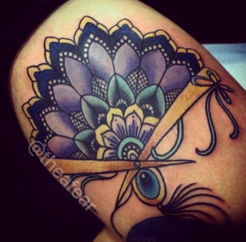 japanese hand fan tattoo - Google Search | Tattoo Ideas