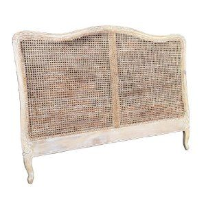 French Style Shabby Chic Cane Bed Headboard King Size In Retro Touch Finish Amazon Co Uk Kitchen Home Perfe Small Attic Room Attic Renovation Attic Design