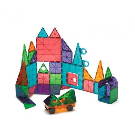 Perfect For Future Stem Challenges Module R Magna Tiles Clear Colors 100 Piece Set Magna Tiles Magnetic Building Tiles Toys For Little Kids