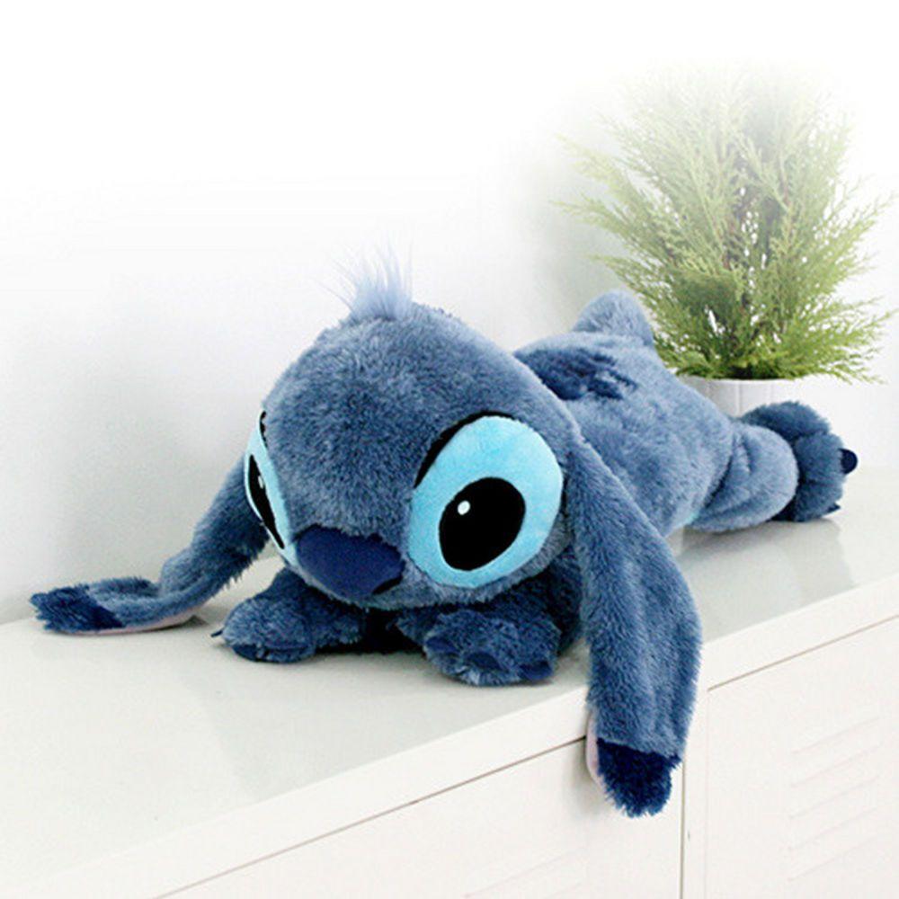 f2df9b89 Walt Disney Lying Stitch Plush Doll Stuffed Animal Lilo Stitch Soft ...