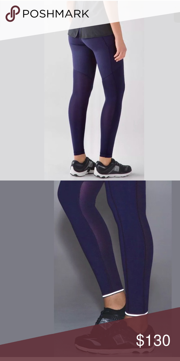 921715cfd0 NWT 💞💞 LULULEMON SPEED TIGHT V BRUSHED DEIN BLUE BRAND NEW WITH TAGS SIZE  12 DEIN Blue lululemon athletica Pants Leggings