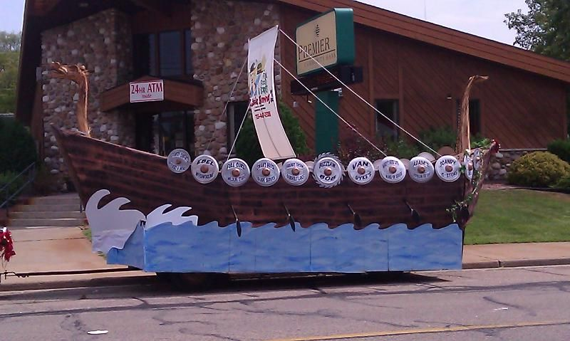 how to make a viking ship that floats