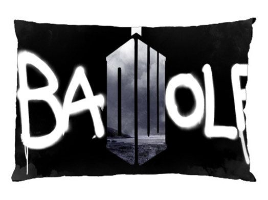 Pillowcase  Bad Wolf Tardis Dr Who Pillow Case by SinarQuality, $14.99