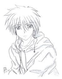 Image Result For Easy Anime Guys Drawings Guy Drawing Anime