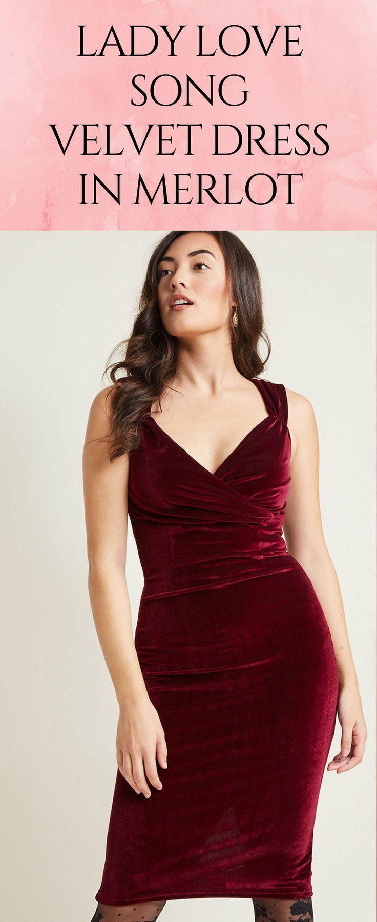 Velvet sheath formal dress in dark red merlot plus sizes available