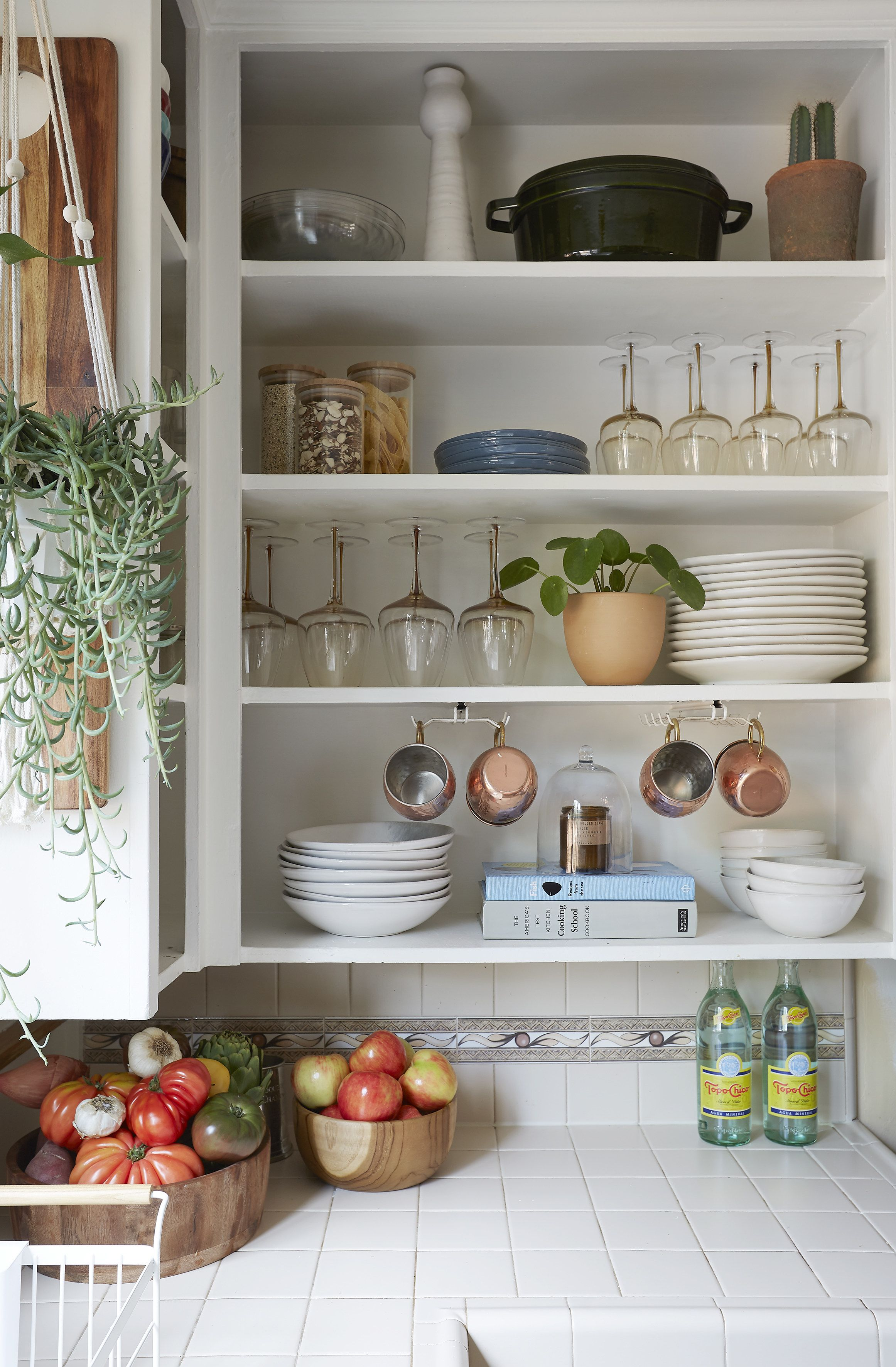 This Kitchen Cabinet Design Hack Is A Renter S Dream Open