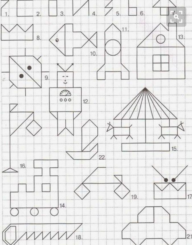 Kartinki Dibujos En Cuadricula Cuadricula Para Dibujar Y