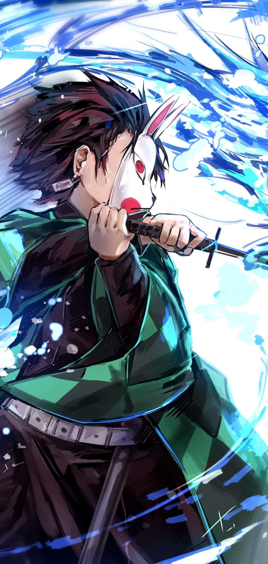 Tanjirou Demon Slayer Aka Kimetsu No Yaiba Ilustrasi Karakter Gambar Karakter Hantu
