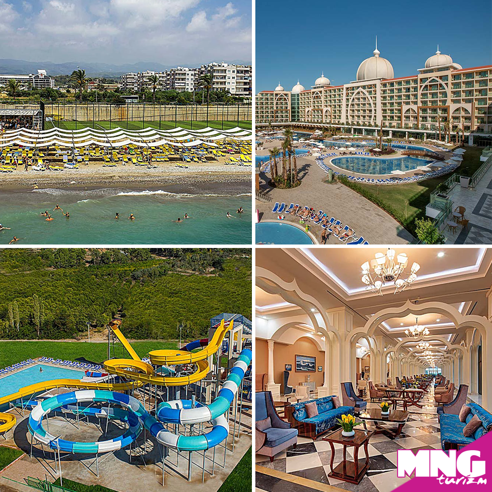 Alanya Da Saraylari Andiran Mimarisi Ile Alan Xafira Deluxe Resort Spa Misafirlerine Ultra Hersey Dahil Bir Tatil Sunuyor Bit Ly Mngtur Spa Turizm Tatiller