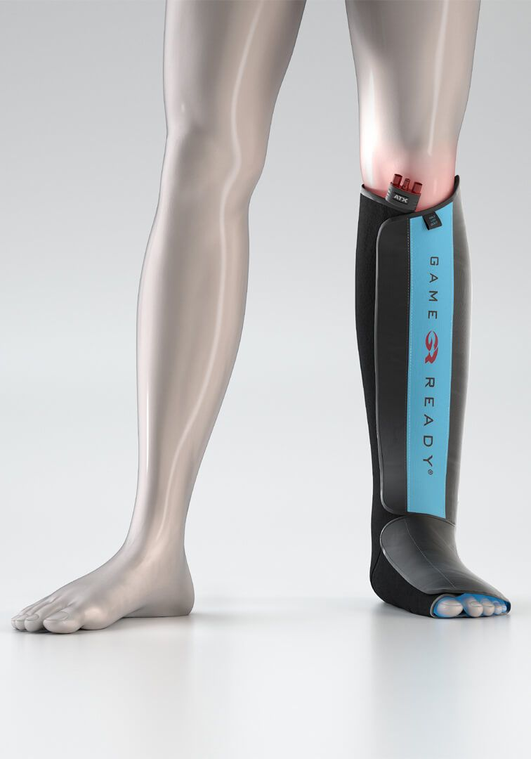 Game Ready Half Leg Boot Wrap Wrap Boots Torn Calf Muscle Calf Muscles
